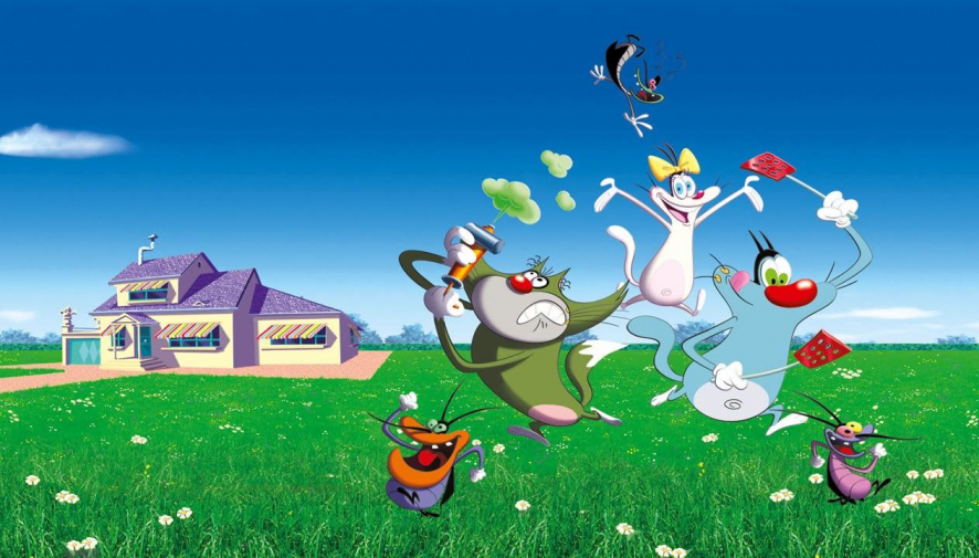 Watch Oggy And The Cockroaches The Movie 2013 Free On