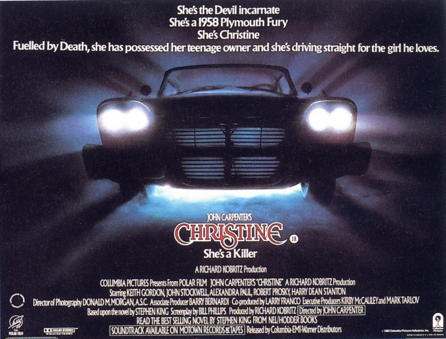 1983 Movie Posters: Watch Christine The Movie (1983) Free On 123movies.net