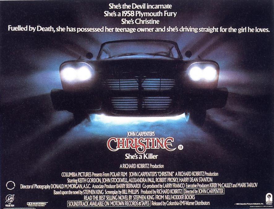 Christine (1983) - Posters — The Movie Database (TMDb) |Christine 1983 Poster Back